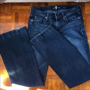 7 For All Mankind Jeans - 7 For All Mankind Dojo Blue Jeans size 27